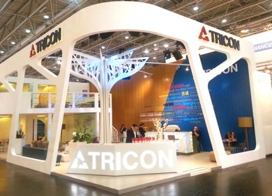 tttTricon tech exhibition stand design