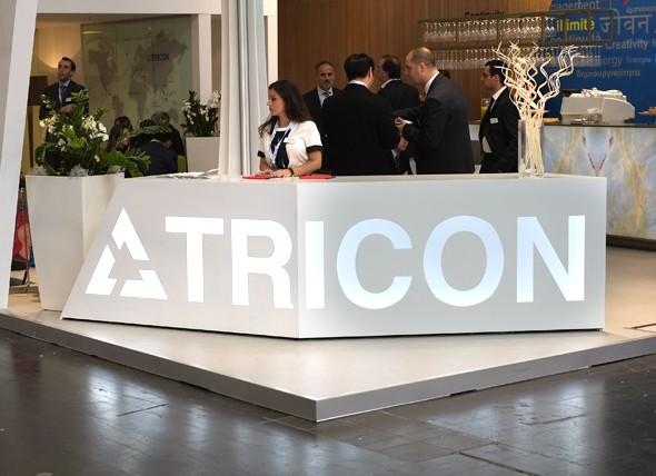 Tricon tech exhibition stand design