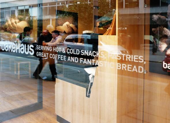 bakehaus store front design