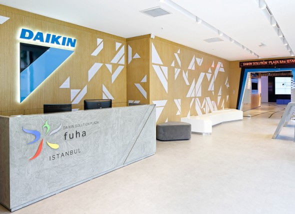 Daikin Solution Plaza Showroom interior Design