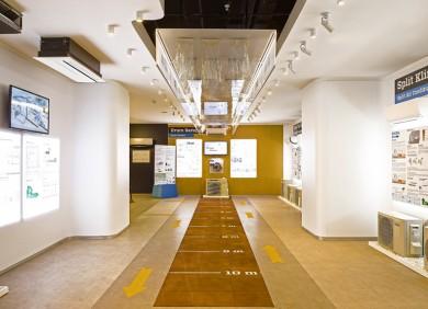Daikin Solution Plaza Showroom interior Design