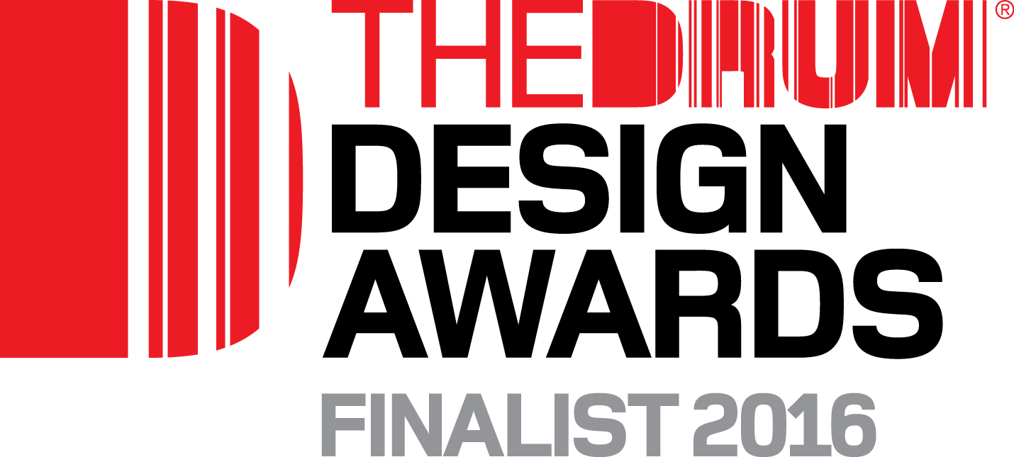 Drum Awards finalist logo