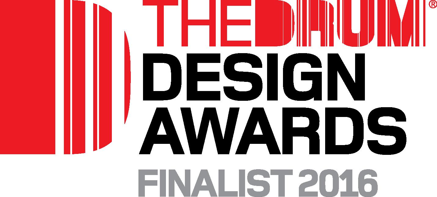 Drum Awards finalist logo