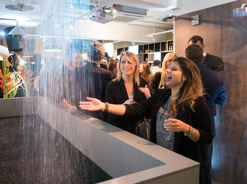 Hansgrohe Water Studio launch party
