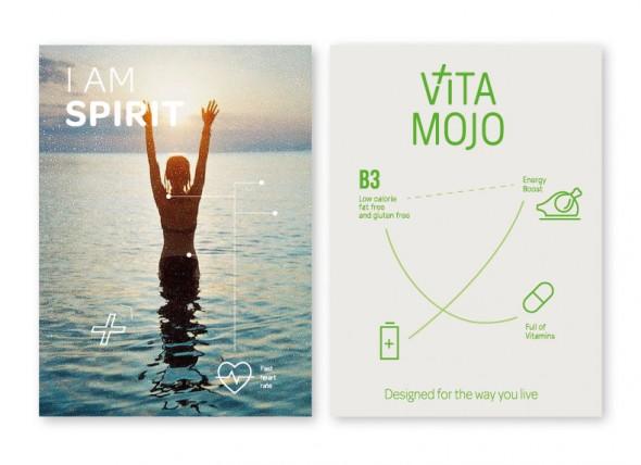 Vita Mojo promotional material design 2