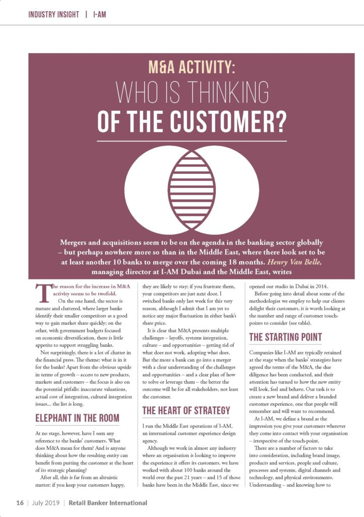 HV Retail Banker International - July 2019 Highlight Edition 16