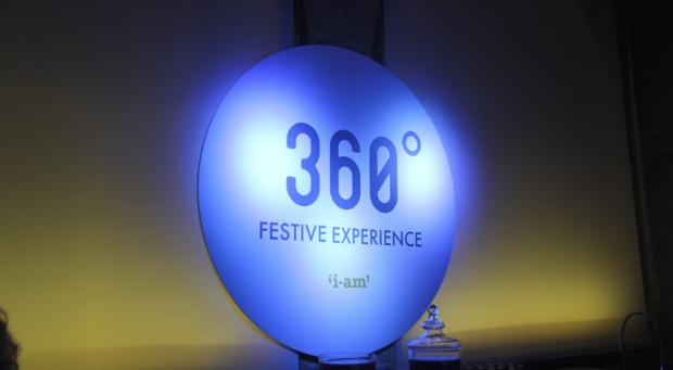 360-degree Christmas from I-AM