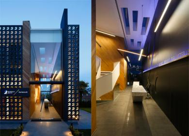 Burgan Bank Interior design