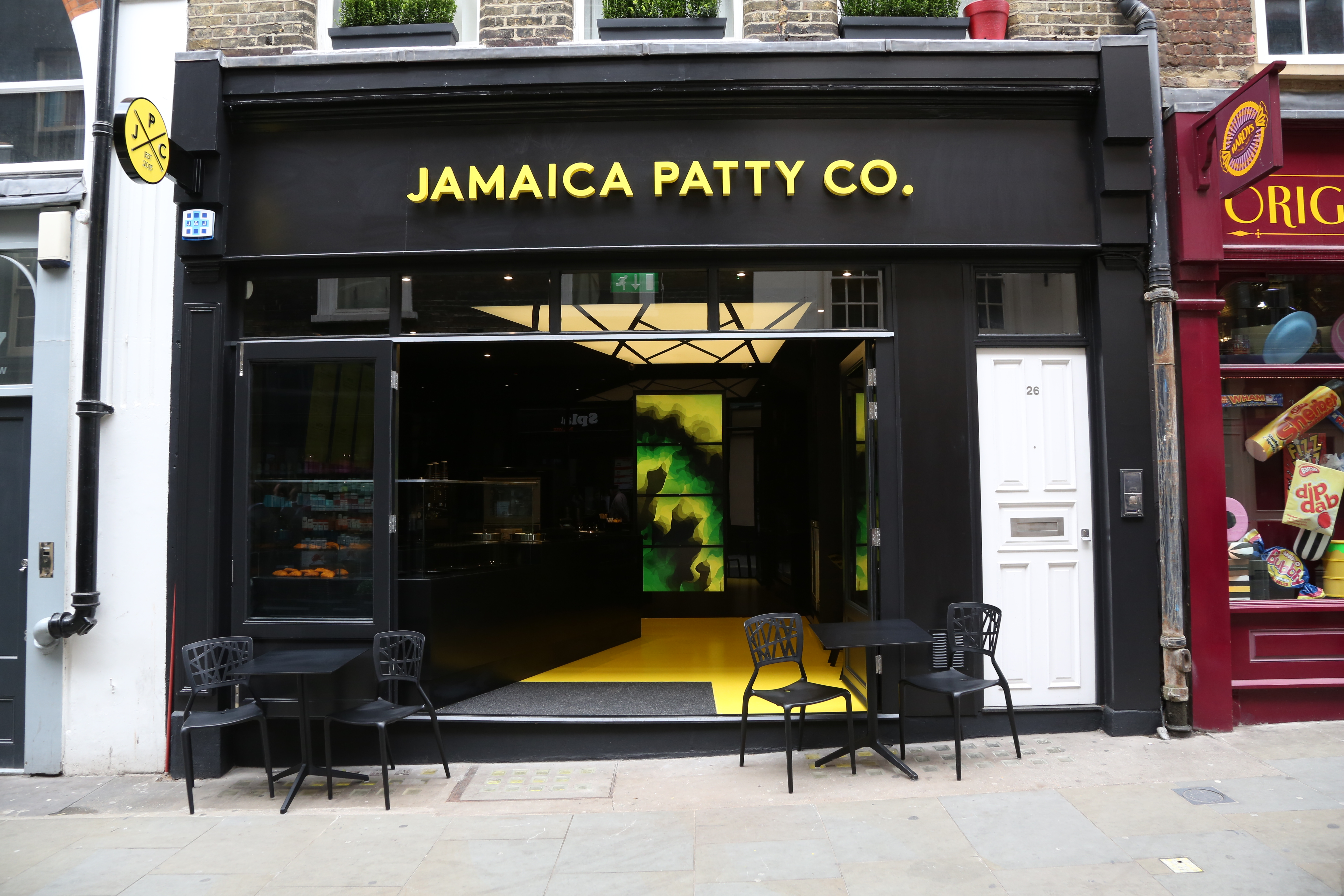 Jamaica Patty Co. Launch Venue in London
