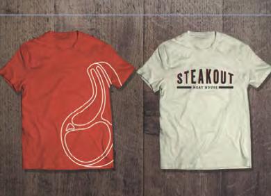 Steakout brand identity & branding