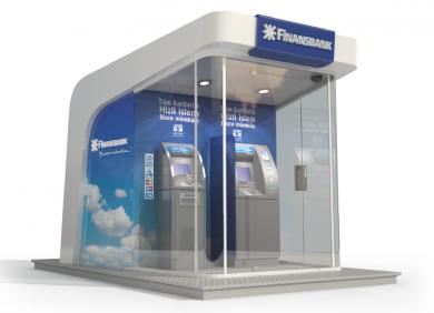 Finansbank ATM design