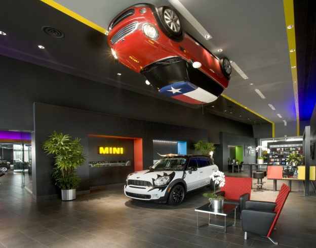 Mini on the ceiling
