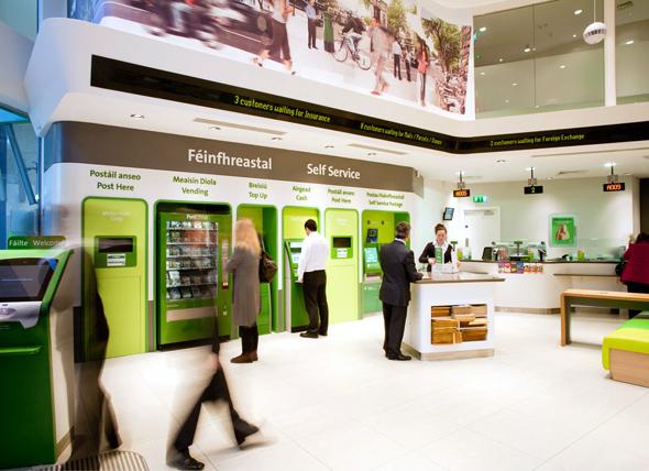 An Post Bank Branding & Branch Design