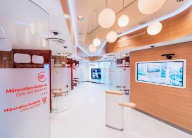 Unicredit Austria Bank design agency