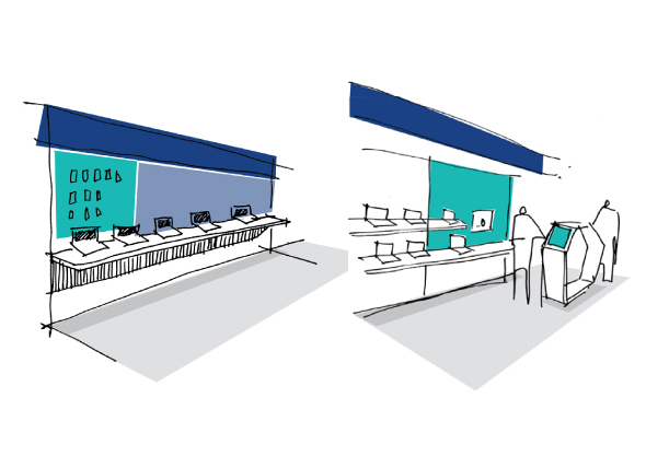 Carphone Warehouse tech store design and customer experience