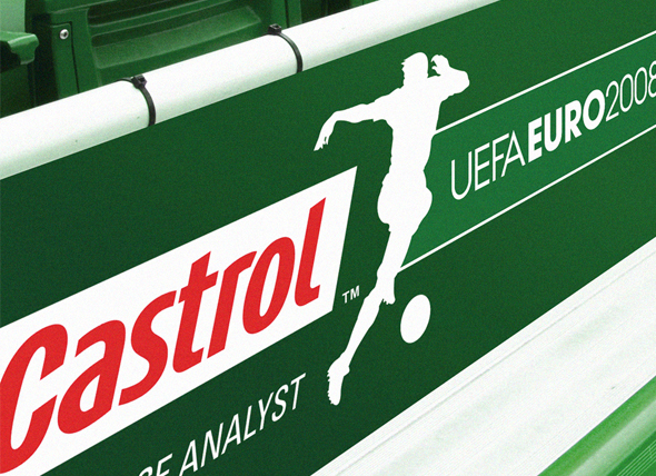 Castrol automotive branding