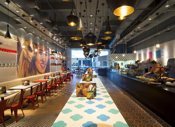 tttComptoir Libanais Restaurant Interior Design