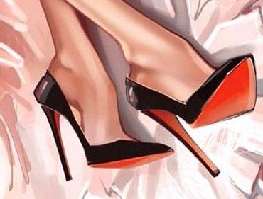 Graphic High-Heels