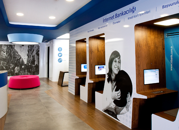 Isbank Customer Experience and Interior Design