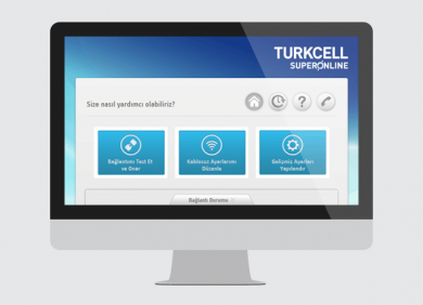 Turkcell superonline digital branding and design