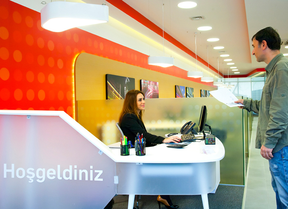 Tam Faktoring Bank Branch Designers