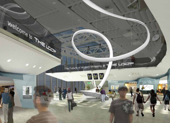 The Loop Airport Retail Design